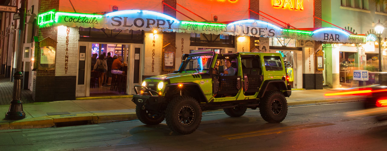 Lime Green Custom Hard Top Jeep
