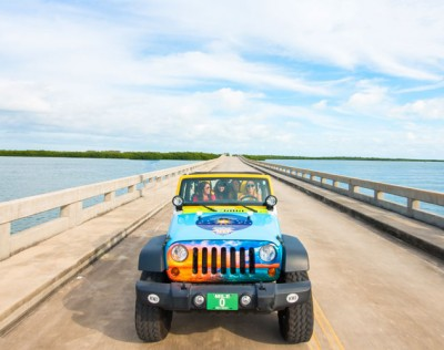 Key West Jeep- Senic Views