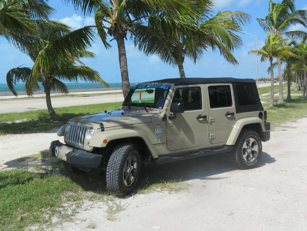 Our Jeeps | KEY WEST ADVENTURES JEEP RENTALS AND MORE