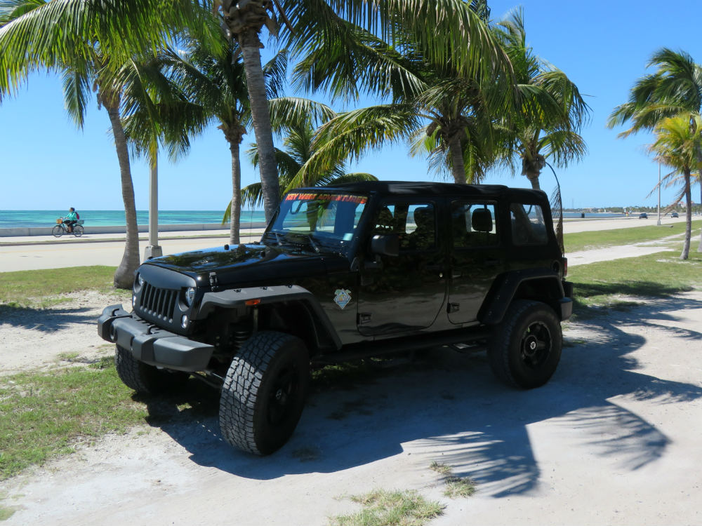 Jacked Up Jeep Wrangler >> Our Jeeps Key West Adventures Jeep Rentals And More