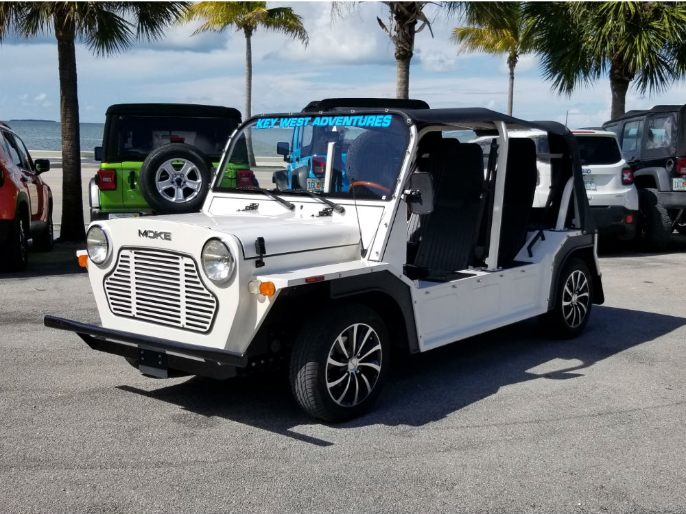 2018 Moke! in White