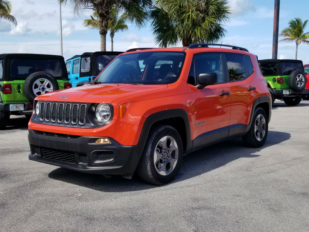 Orange Renegade Latitude