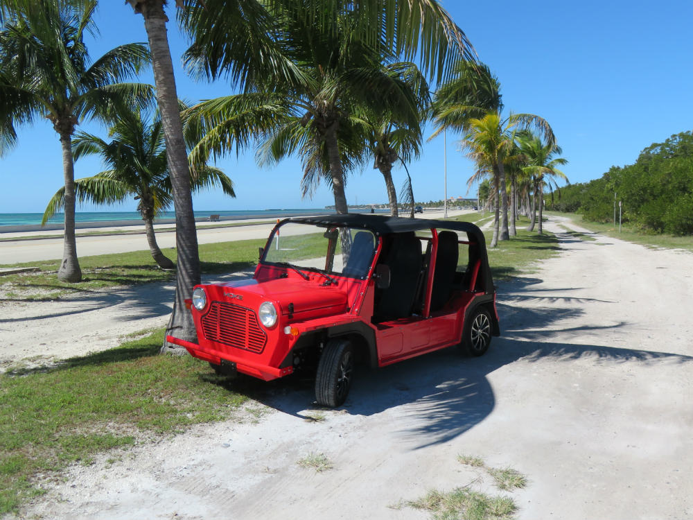 2018 MOKE! in red