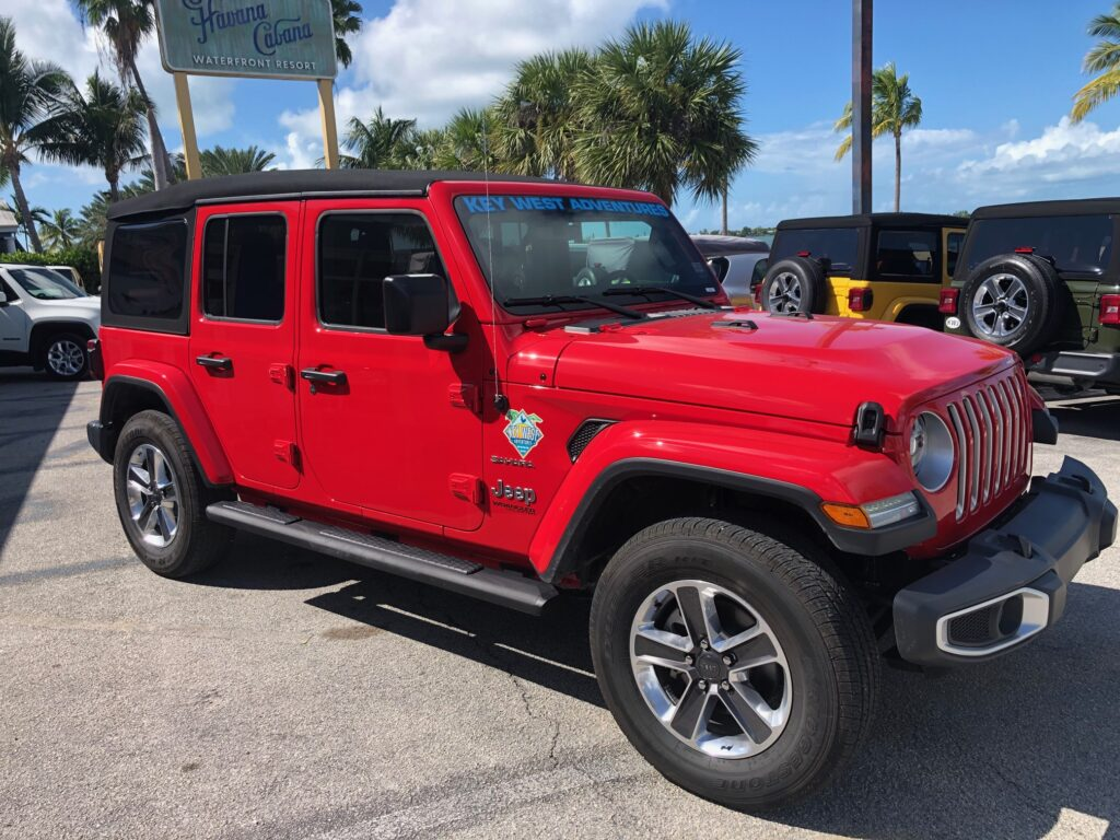 2021 JEEP WRANGLER RED