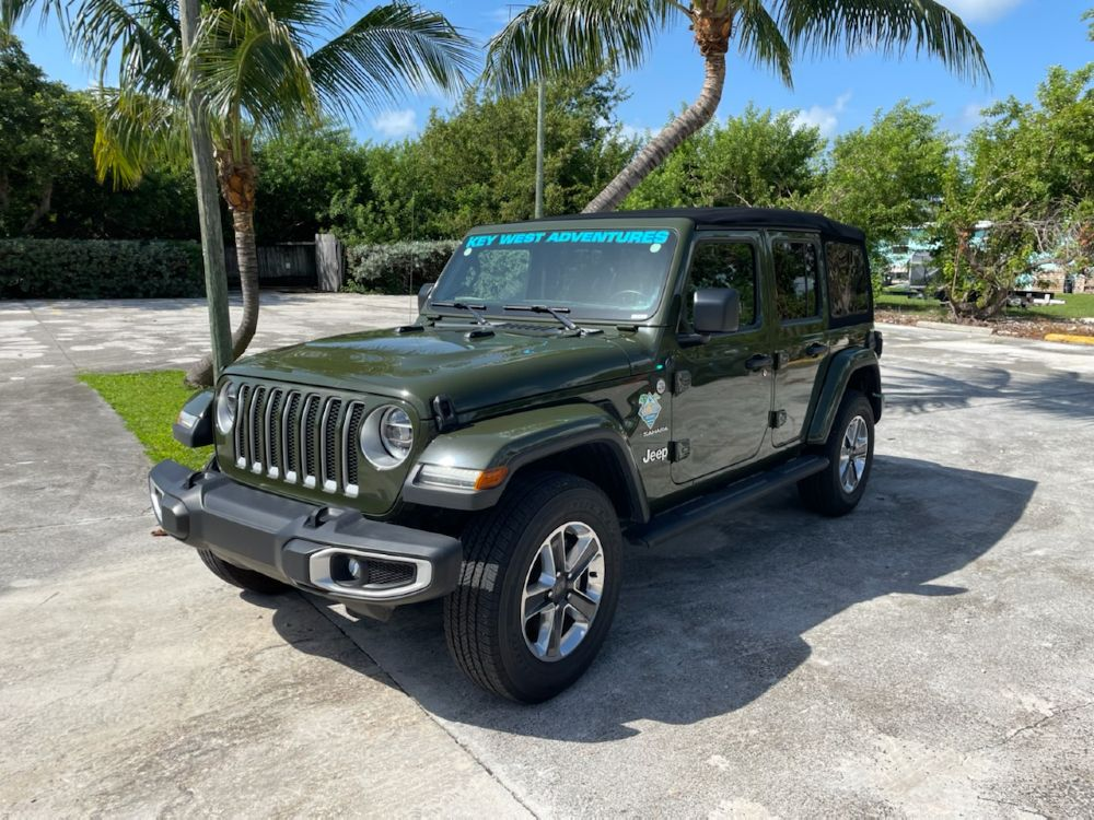 2021 JEEP WRANGLER SARGE GREEN W/ SOFT TOP